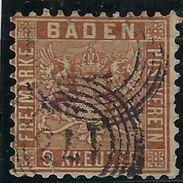 Ancien Etat Allemand Bade ( Baden ), N° 15 Oblitéré - Baden