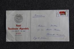 Lettre De SITGES, Hotel Residencia AIGUADOLC - 1931-Oggi: 2. Rep. - ... Juan Carlos I