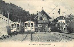 CHAMBLY - Gare De La Ligne Montreux Oberland. - Gares - Avec Trains