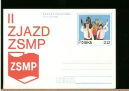 POLSKA - CP - Cartolina Intero Postale - ZSMP - Stamped Stationery
