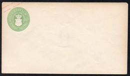 AD Mecklenburg-Schwerin 1860/61  Umschlag/ Cover ; 1  1/2 Schilling , Kurze Gummierung - Mecklenburg-Schwerin