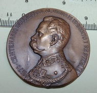 Embossed Copper - Centenario Della Ascesa Al Trono Di Umberto I 1978 - Royal/Of Nobility