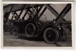 AUTO CAR VOITURE NON IDENTIFICATA -  PICCOLA FOTO ORIGINALE 1930 CIRCA - Cars