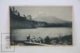 Old 1913 Japan Postcard - Mount Fuji From Lake Of Ashi - Tokyo