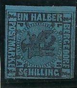 Allemagne, Ancien Etat Allemand Bergedorf, N° 2 * - Bergedorf