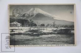 Old 1913 Japan Postcard - View Of The Mount Fuji From Iwabuchi, Tokaido - Tokyo