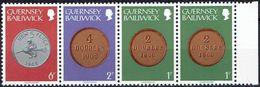 GUERNSEY  #  FROM 1978 STAMPWORLD 167-168+171** - Guernsey