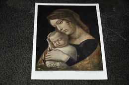 2880- Maria Mit Dem Schlafenden Kinde, Berlin Museum - Museen