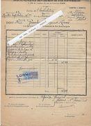 58 - LORME - NEVERS - CHEMINS DE FER  -  TRANSPORT -  Ligne Corbigny à Seaulieu - 1925 - Transport