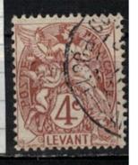 LEVANT         N°  YVERT     12       OBLITERE       ( O   2/27 ) - Levant (1885-1946)