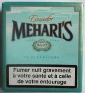 BOITE VIDE CIGARES MEHARI S ECUADOR CIGARILLOS AGIO BRESIL PAYS BAS - Cigares - Accessoires