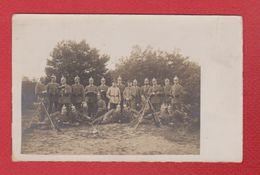 Carte Photo  --  Soldats Allemands --  Endroit A Identifier - War 1914-18