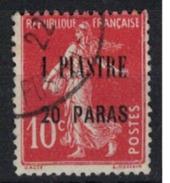 LEVANT         N°  YVERT    30        OBLITERE       ( O   2/28 ) - Levant (1885-1946)