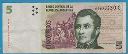 ARGENTINA 5 PESOS ND (2003) Serie C  P# 353 - Argentine