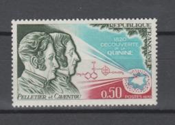 FRANCE / 1970 / Y&T N° 1633 ** : Pelletier & Caventou - Gomme D'origine Intacte - France