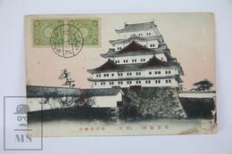 Old 1913 Japan Postcard -  Hakurojo Castle, Himeji - Japón