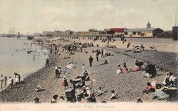 Angleterre - Hampshire - Portsmouth - The Hot Walls - Plage Beach - Portsmouth