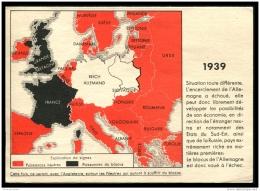 Lot N°8920 CARTE POSTALE - Guerre 1914 Et 1939 - Carte Double - Explication Du Blocus En 1914 Et 1939 - Neuve - TB - Weltkrieg 1914-18