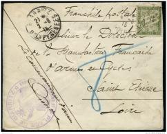Lot N°9005 Lettre Du Commandant D'Armes De La Place De Biarritz Pour Le Directeur De La Manufacture De ST ETIENNE - Taxé - Portomarken