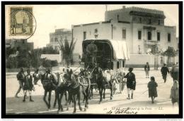 Lot N°9193 CARTE POSTALE - TUNISIE - Sfax - Départ De La Diligence Postale (1908) - TB - Tunisie