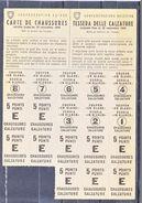 TIQUET DE RATIONNEMENT SUISSE - CARTE DE CHAUSSURES - 1944 - V/IMAGE - Vieux Papiers
