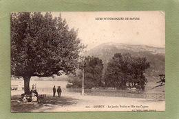 ANNECY  JARDIN PUBLIC  ILE DES CYGNES - Annecy