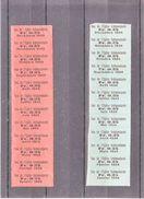 """TIQUET  """" SOU DE L'EGLISE INDEPENDANTE """" 1933 ET 1934 - V/IMAGE - Vieux Papiers"""