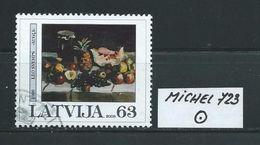 LETTLAND MICHEL 723 Gestempelt Siehe Scan - Latvia
