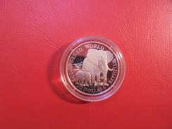 "COOK 10$ 1990 ARGENT ""PROOF"" ""ELEPHANT"" - Cook Islands"