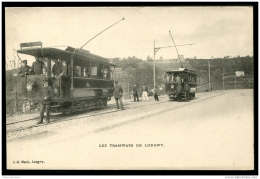 Lot N°9504 FRANCE - CARTE POSTALE - LES TRAMWAYS DE LONGWY - Gros Plan - C.P.A Neuve - TB - Longwy