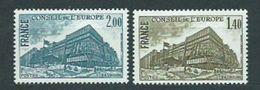 Año 1980 Nº 63/4 Edifico Consejo De Strasburgo - Servicio
