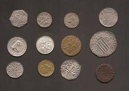 12 Monedas Mediavales Reproducciones - Fichas Y Medallas