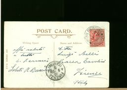 GREAT BRITAIN - POST CARD - LONDON IMPERIAL INTERNATIONAL EXHIBITION 1909 - Storia Postale