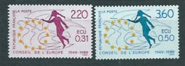 Año 1989 Nº 100/1 Consejo De Europa - Servicio