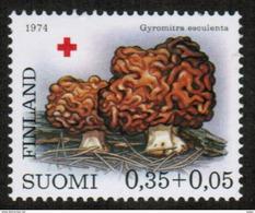 1974 Red Cross 0,35 + 0,05 Mk X-paper  Michel 65 € **. - Finland