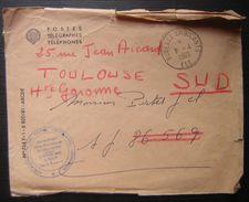 1960 Bureaux Ambulants Ligne De L'est Administration Des Postes , Voir Photo - Postmark Collection (Covers)