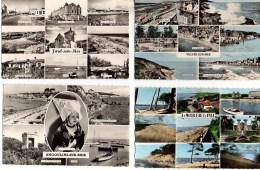LOT De 110 Cartes Semi-modernes Petit Format Années 50 , Toutes MULTIVUES - 100 - 499 Cartes