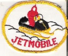 "Jetmobile Patch Badge 7.5 Cm X 6 Cm   3"" X 2.4"" - Winter Sports"
