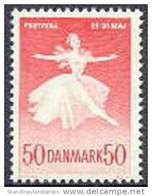DENEMARKEN 1965 Kopenhagen Festifal Fluorescerend Papier PF-MNH-NEUF - Danemark