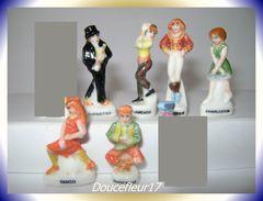 Dances Des Rois ... Lot De 6 Fèves... Ref AFF : 53-1996  ...(pan 0038) - Characters