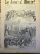 GRAVURE D Epoque    1886 Les Fêtes De L Industrie Le Cabaret De Ramponneau  Le Jardin Des Tuileries - Estampes & Gravures