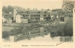 35 RENNES. Vieilles Maisons Du Pont De Saint-Cyr Vers 1904 - Rennes