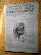 Journal De La Famille MODE  ILLUSTREE 36em Année No 37 De Tenpestin Avec Planche De Broderie Couleur ) Du 15 Sept 1895 - 1850 - 1899