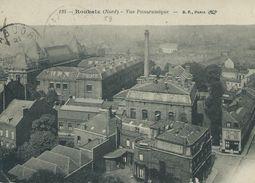 59,Nord,ROUBAIX, Vue Panoramique, Scan Recto-Verso - France