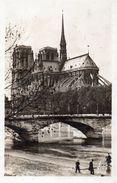 CPA PARIS - ABSIDE DE NOTRE DAME - Notre Dame De Paris