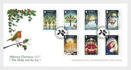 Alderney - Postfris / MNH - FDC Kerstmis 2017 - Alderney