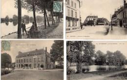 LOT De 100 CPA Des Yvelines - Cartes Postales