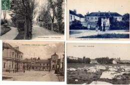 LOT De 100 CPA De SEINE Et MARNE - Cartes Postales