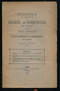 GESCHIED & OUDHEIDKUNDE TE GENT N° 1 TOT 8 1900-   BLZ 1 TOT 384  - 23X15CM  8 SCANS - Geschiedenis