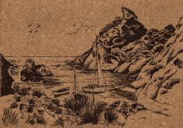 B 3471 - Carte Sur Liege    La Calanque - Autres